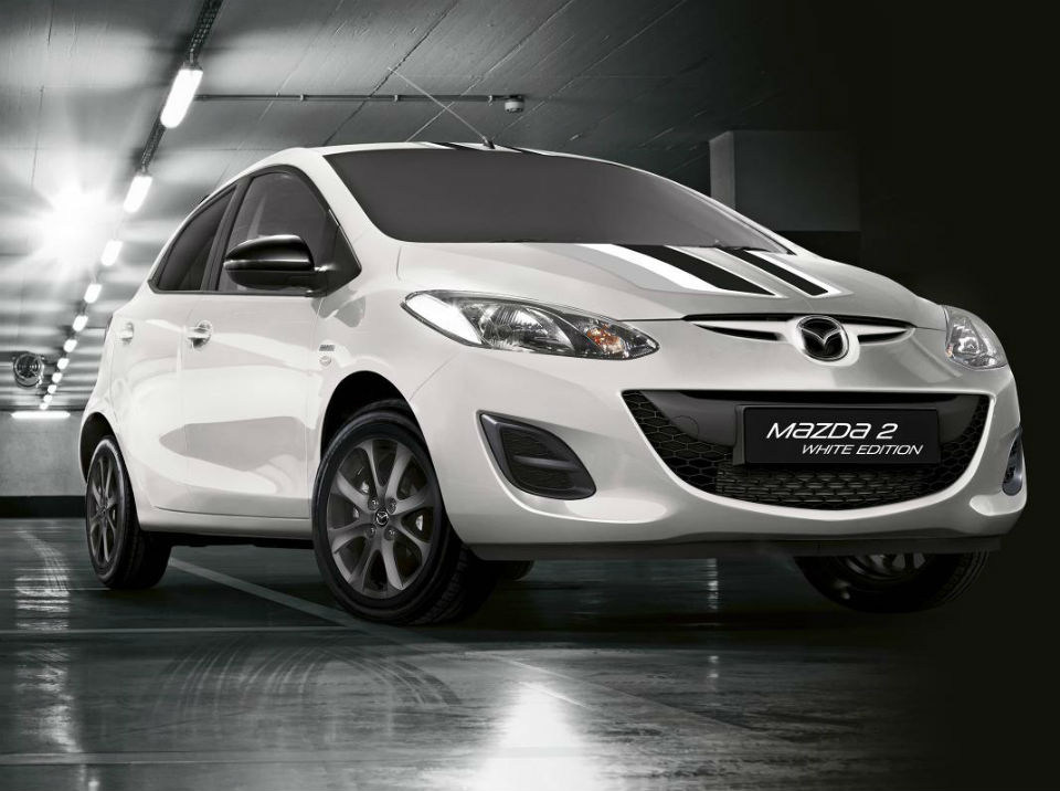 Mazda 2 Black and White Editions