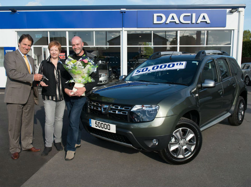 Dacia sells 50,000th car in the UK