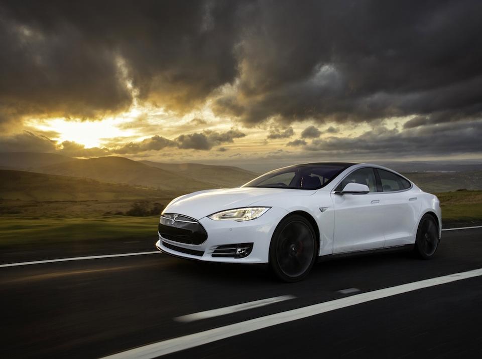 Tesla Model S Software Update