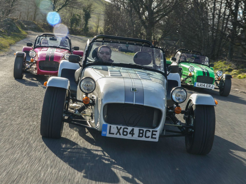 Three new Caterham Seven models 270, 360 and 420